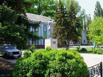 Памятник В.И. Ленину в Приморско-Ахтарске